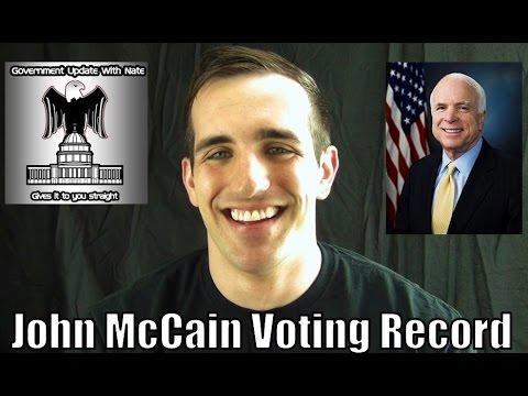 GUWN: John McCain voting record senate race 2016