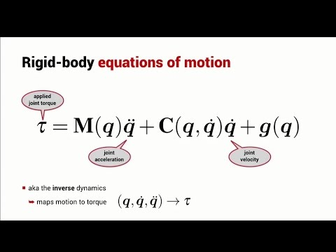 Rigid-Body Dynamics | Lesson | Robot Academy