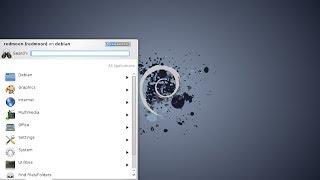 Install Debian 7.5.0 amd64. KDE Desktop.