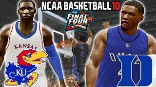 NCAA Basketball 10 - MyCareer - National Championship Game! - Duke Vs Kansas! -
