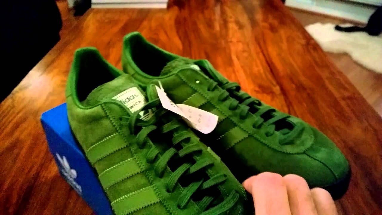 5268e18b810b Adidas Ardwick Unboxing Jan 2015 - YouTube