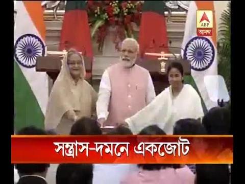 India- Bangladesh joint statement: Narendra Modi, Sheikh Hasina condemn 'barbaric terror