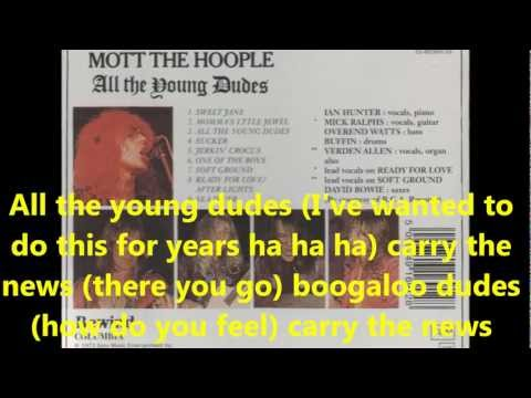 05  Mott The Hoople   All The Young Dudes 1972 with lyrics