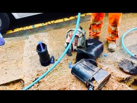 Thames Water Lead Pipe Replacement 2017