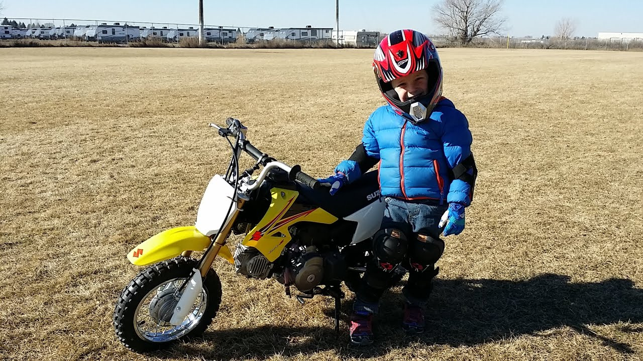 suzuki dr-z70 - third day of riding buy your kid a motorcycle