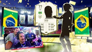 OMG ICON IN A PACK! MY FIRST FIFA 20 PACK OPENING!
