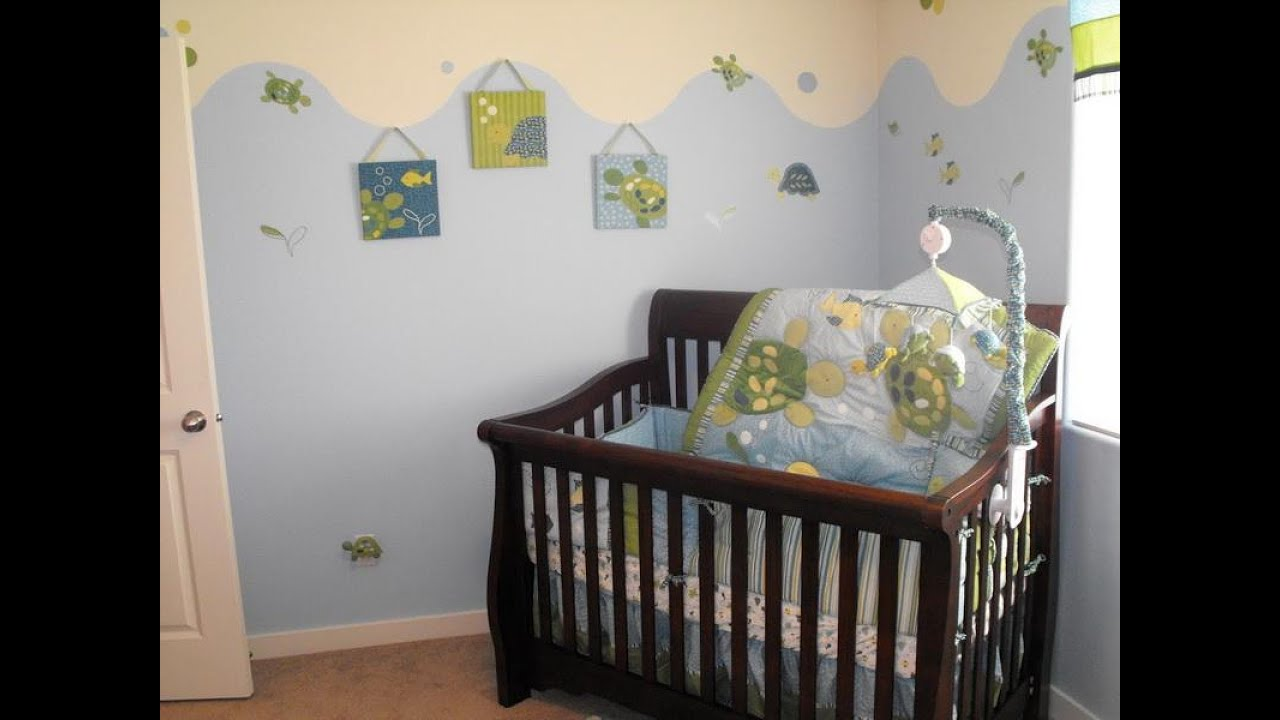 Wonderful simple baby room ideas youtube for Simple nursery design