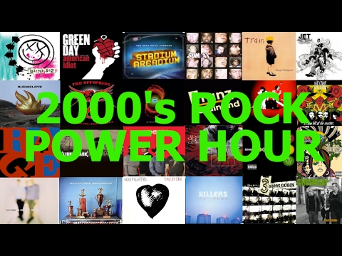 2000s Rock Power Hour Drinking Game