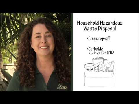 How To Dispose of Household Hazardous Waste