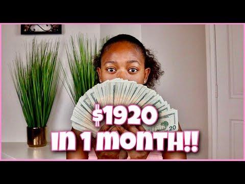 1 Month Update | 6 Month Money Saving Challenge