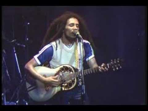 Bob Marley - Redemption Song Live In Dortmund, Germany