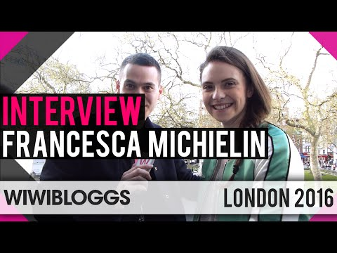 Francesca Michielin Italy 2016 at London Eurovision Party - Interview | wiwibloggs