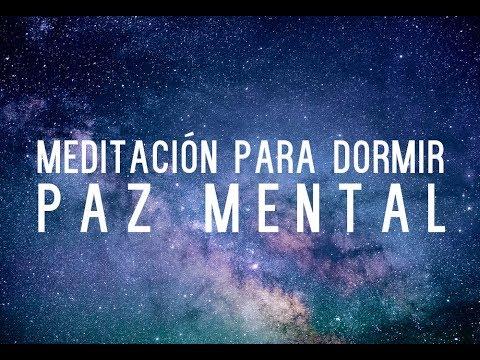 MEDITACION PARA DORMIR | PAZ MENTAL, MENTE EN BLANCO, VIBRACION BINATURAL, ONDAS DELTA| ❤ EASY ZEN