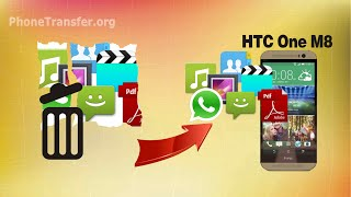 [HTC One M8 Data Recovery]: How to Recover Deleted Data from HTC One M8, M9