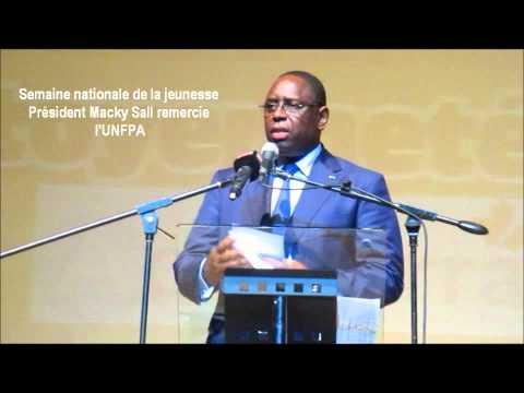 Président Macky Sall remercie l'UNFPA