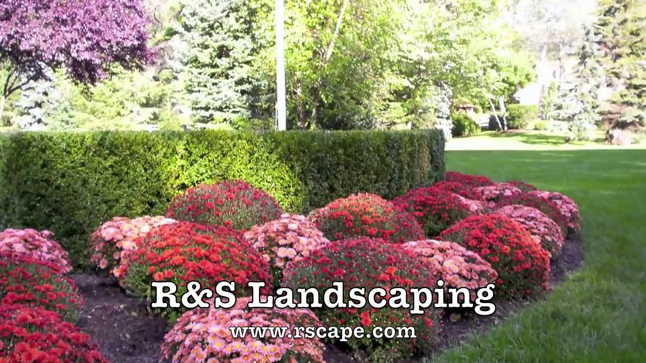 Fall Color Tips From R S Landscaping Youtube