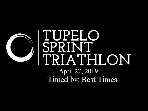 Tupelo Sprint Triathlon 2019