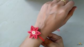 Handmade Rakhi: How to make simple & easy Rakhi at home | Raksha Bandhan | L'Artisto | Kirthi | Nals