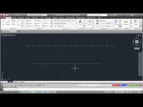 AutoCAD Hidden Lines Not Showing In Model Space | Appear Solid | How To Create