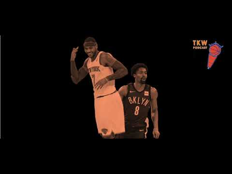 Knicks-Nets Beef, Retiring Melo's Jersey & Dick Hammer's Boy | TKW Podcast