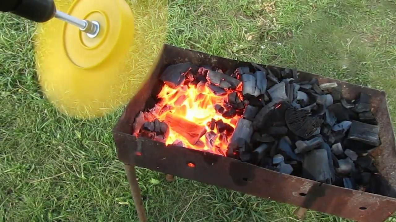 Как разжечь уголь для барбекю цены на барбекю из кирпича