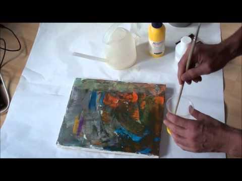 Die Besten Acrylmalerei Techniken Fur Anfanger Malen Mit Acryl