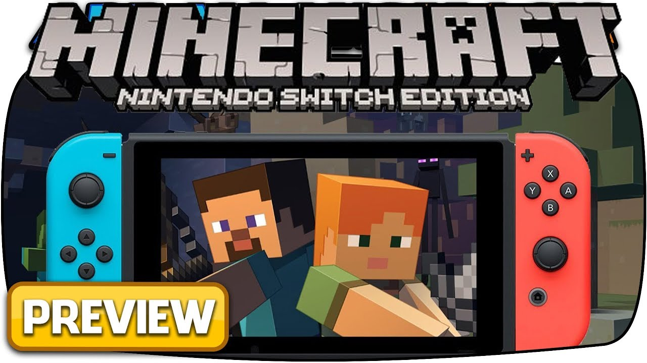 Minecraft Nintendo Switch Edition Hour Preview Livestream - Minecraft spiele switch