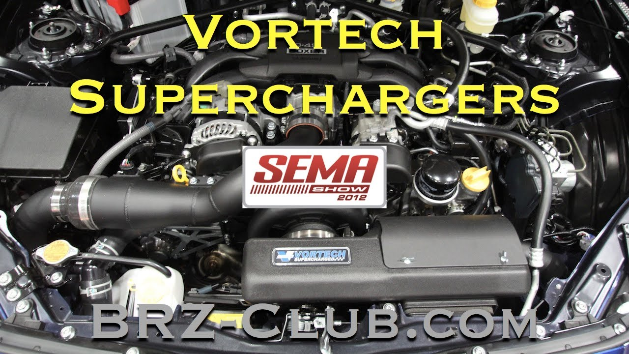 Vortech Supercharger Kit for the Subaru BRZ and Scion FR-S from the ...
