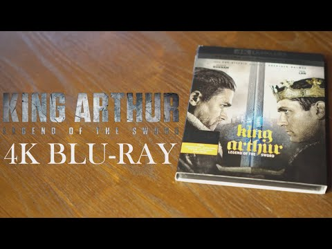 King Arthur Legend Of The Sword 4K and 3D Bluray Review Unboxing, Charlie Hunnam