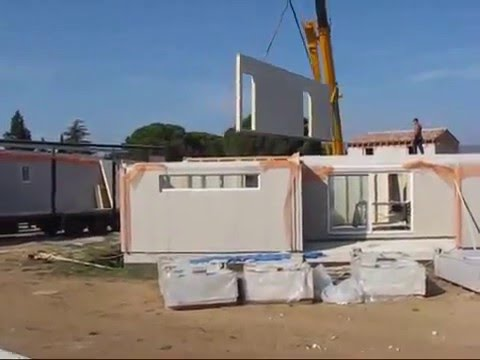 Construction maison bois en kit en ile de france youtube - Maison ossature bois ile de france ...