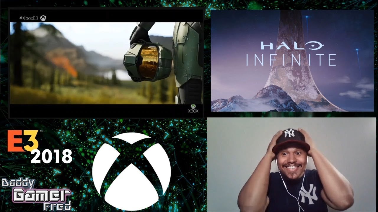 Halo Infinite Trailer Reaction During Microsoft's E3 2018 Press Conference