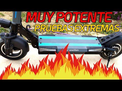 Pruebas EXTREMAS a un patinete MUY POTENTE 🔥 (+800w) - smartGyro SpeedWay 2.0