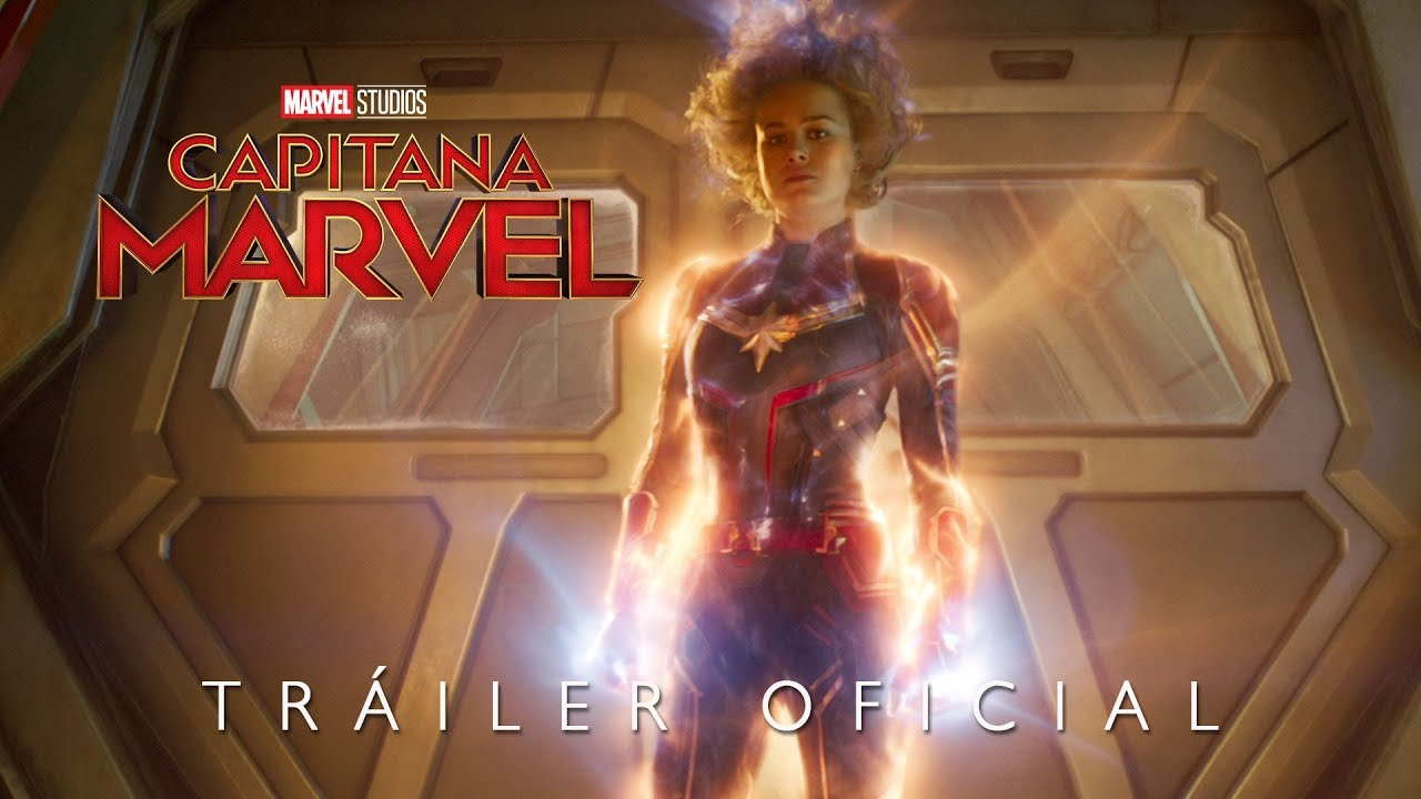Capitana Marvel Tráiler Oficial En Español Hd Youtube