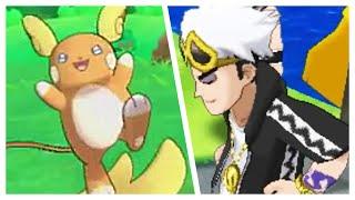 ALOLAN RAICHU + NEW LEAKED GAMEPLAY - Pokémon Sun and Moon