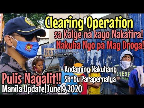 Walang Pambile Pagkain pero kapag Droga Meron|Manila Update|Clearing Operation