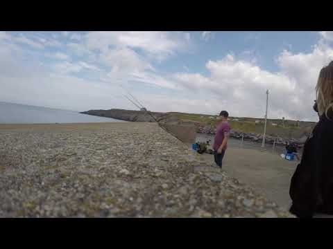Sea Fishing At Amlwch Time-lapse