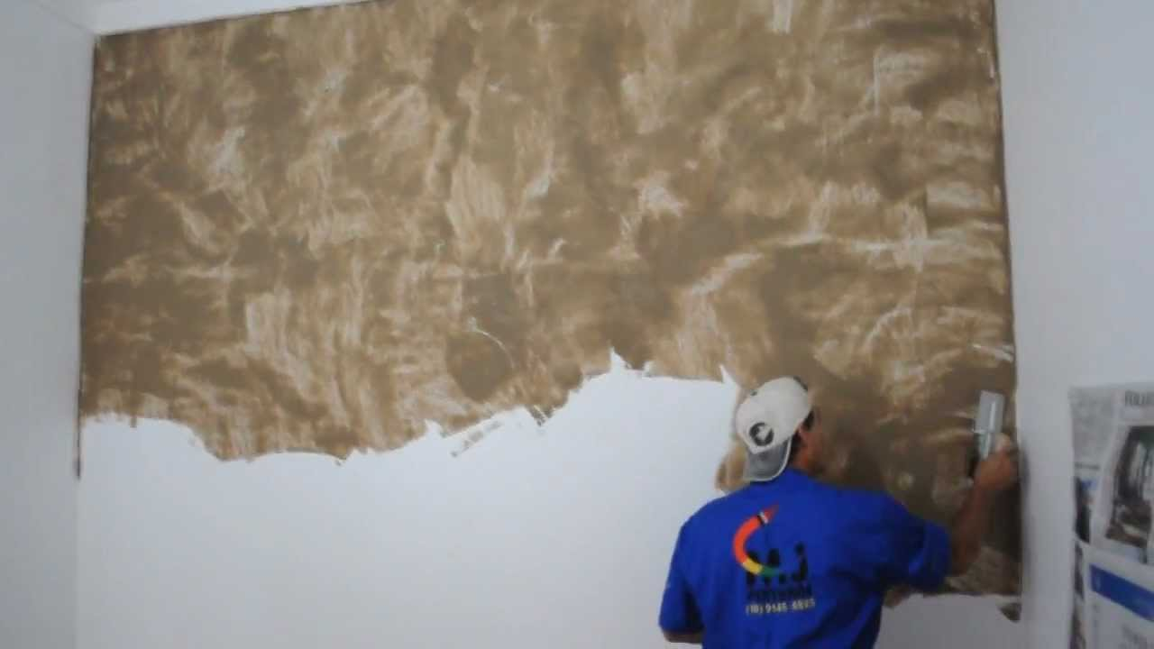 Efeito m rmore suvinil mj pinturas youtube for Pintura decorativa efeito marmore