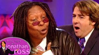 Whoopi's Spooky Encounter While Doing Make-Up For The Dead | Friday Night With Jonathan Ross