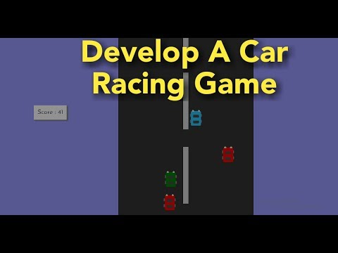 Develop A Car Racing Game Using CSS & JS -| Design A Game Using Html And Css