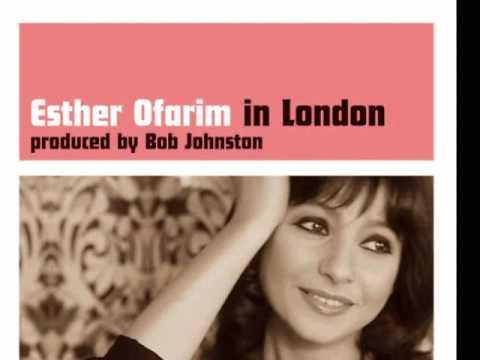Esther Ofarim in London אסתר עופרים