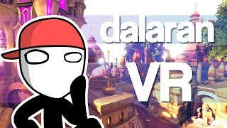 Dalaran (and more) in VR | World of Warcraft meets VRChat