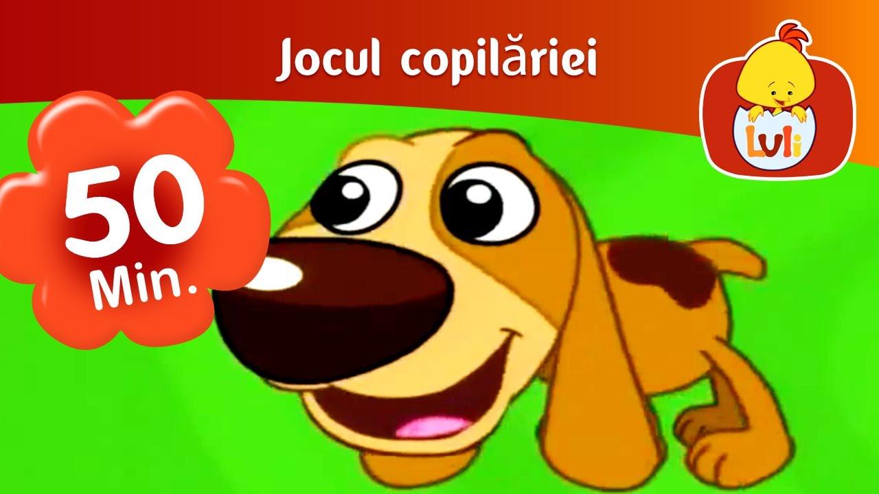 Jocul copilăriei - episod lung 50 de minute - Luli TV