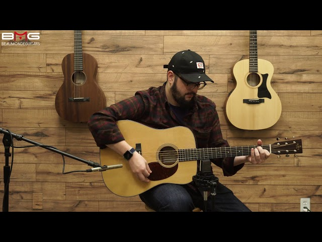 AMI (Sigma) DM-18 Acoustic Guitar Overview