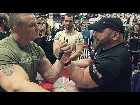ARM WRESTLING  AT ARNOLDS CLASSIC 2018