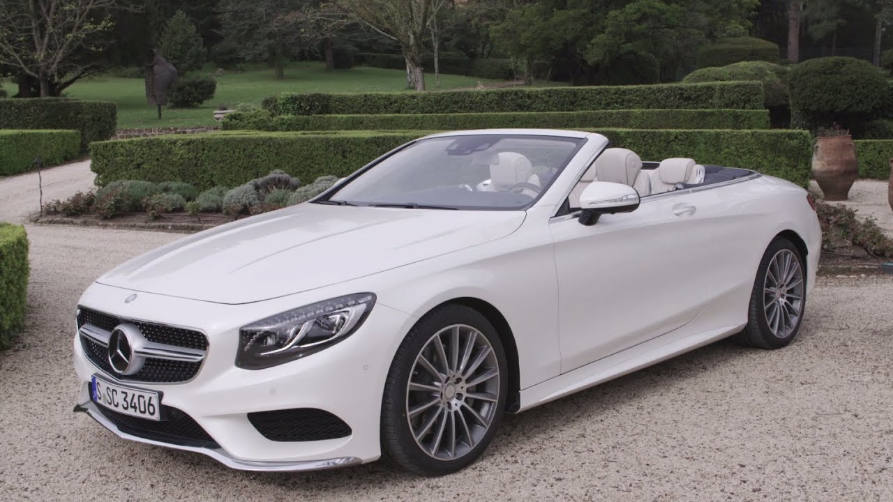 2016 Mercedes S500 Cabriolet Designo Diamond Bright White