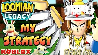 My Loomian Legacy Strategy (Roblox) - Mitis Town to Silvent City Battle Theater