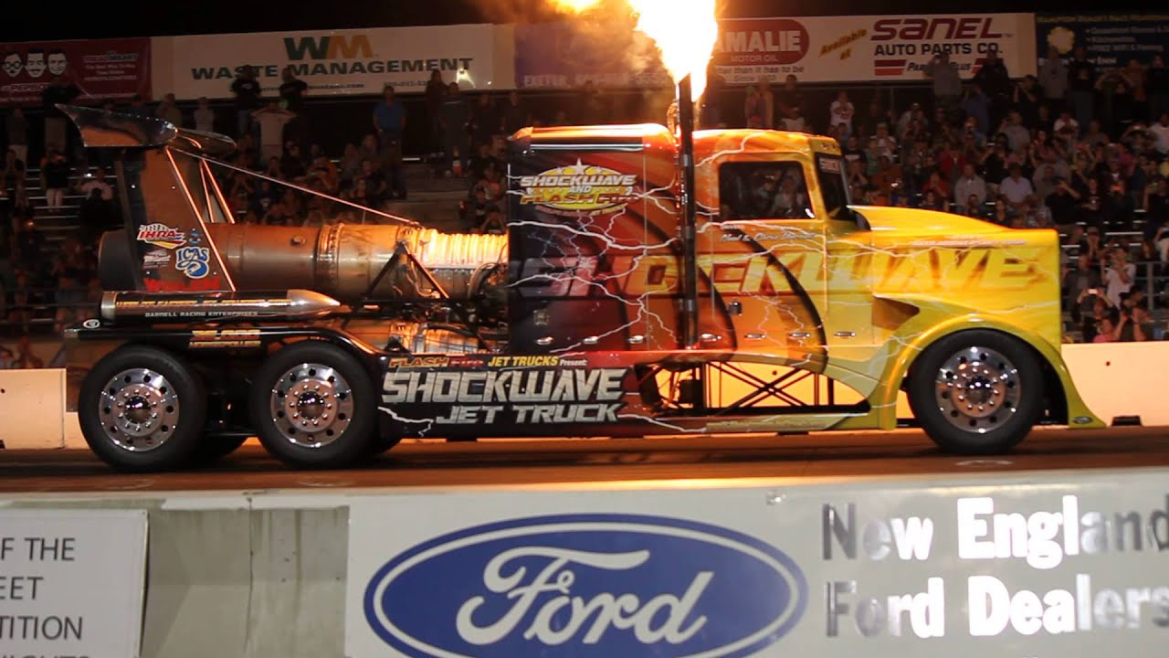 Shockwave Jet Truck From New England Dragway Jet Cars