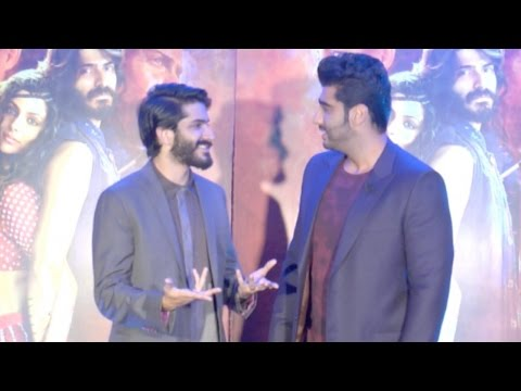 Harshvardhan Kapoor And Arjun Kapoor Bonds At Mirziya Trailer Launch Party