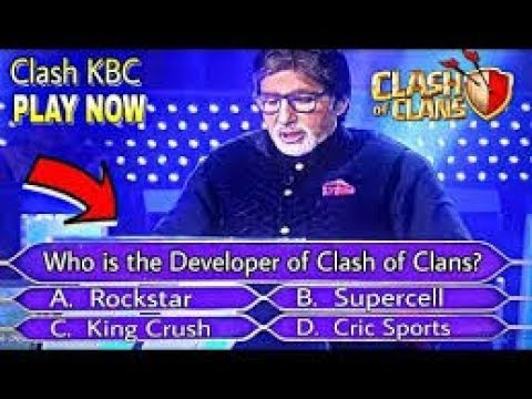 Clash KBC - Who Want's to be a MILLIONAIRE | Clash of Clans Quiz