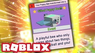 GIFTED PUPPY BEE! | Roblox Bee Swarm Simulator